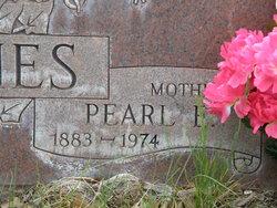 Effie Pearl <i>Rogers</i> Holmes