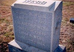 George W Webb