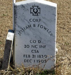 CORP Josiah B Fowler