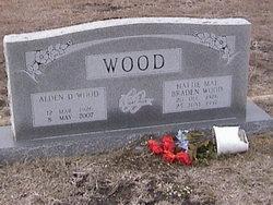 Hattie Mae <i>Braden</i> Wood