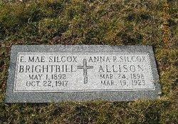 Anna R <i>Silcox</i> Allison