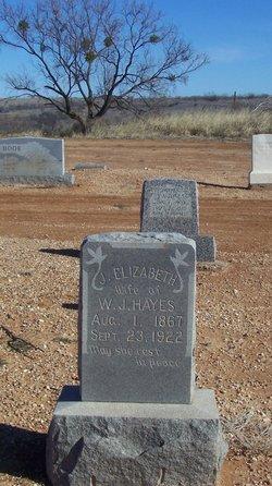 Elizabeth <i>Thomson</i> Hayes