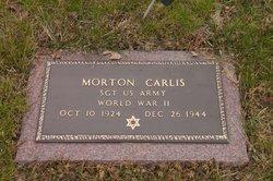 Sgt Morton Carlis