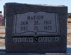 Marion M. Bayles