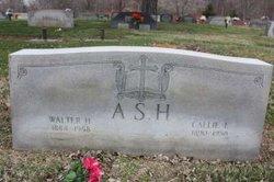 Callie E. <i>Carter</i> Ash
