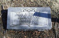 Ada <i>A Tharp</i> Beauchamp