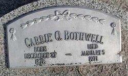 Carrie O. Bothwell