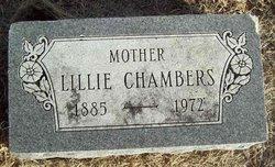 Lillie <i>Gillilan</i> Chambers
