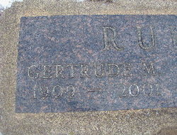 Gertrude Mayola Gert <i>Beals</i> Rude