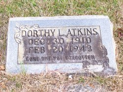 Dorothy Lucille Atkins
