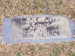 Metta <i>Cobb</i> Atkins