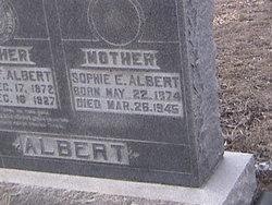 Sophie E Albert