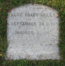 Alice Emma <i>Brady</i> Gillet