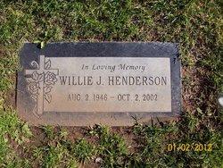 Willie J. Henderson
