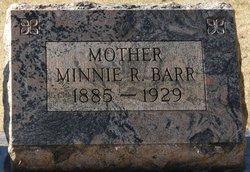 Minnie Rebecca <i>Reed</i> Barr