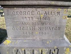 Deborah N <i>Hatch</i> Allen