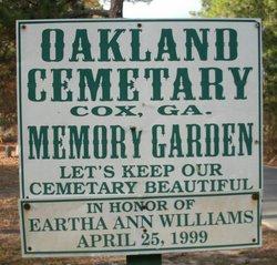 Oakland Cemetery Memory Garden