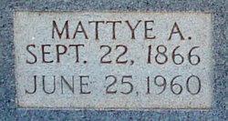 Martha Ann Mattie/Mattye <i>Layne</i> Abbott