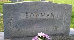 Mary <i>Gordy</i> Bowman