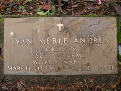 Ivan Merle Andrus