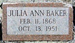 Julia Ann <i>Norton</i> Baker