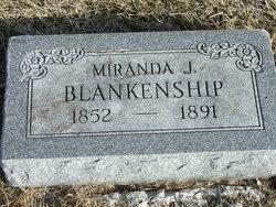 Miranda J <i>Smith</i> Blankenship