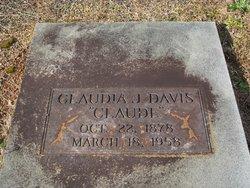 Claudia <i>Jones</i> Davis
