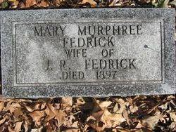 Nancy Margaret <i>Murphree</i> Fedrick