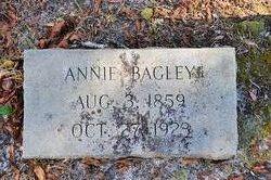 Annie <i>Johnson</i> Bagley
