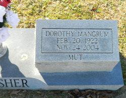 Dorothy Grace Mut <i>Mangrum</i> Thrasher