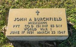 Pvt John Andrew Burchfield