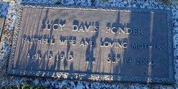 Lucy Edmonia <i>Davis</i> Ponder