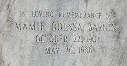 Mamie Odessa <i>Cribb</i> Barnes