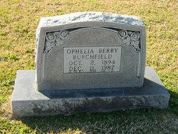 Ophelia <i>Berry</i> Burchfield