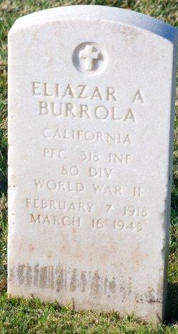Eliazar A Burrola