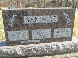 Leora R <i>Higley</i> Sanders