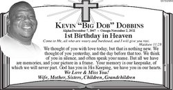 Kevin Wayne Big Dob Dobbins