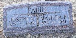 Mrs Matilda Belle <i>Davis</i> Fabin