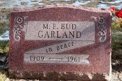 M. E. Bud Garland