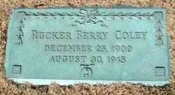 Rucker Berry Coley, Sr