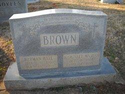 Margaret J. <i>Washam</i> Brown