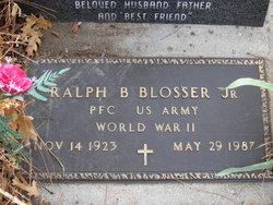 Ralph Bud Blosser, Jr