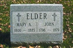 Mary Ann <i>Myers</i> Elder