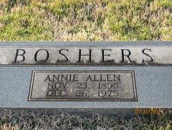 Annie Mary Mae <i>Allen</i> Boshers