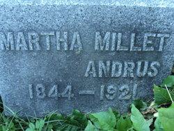 Martha <i>Millet</i> Andrus
