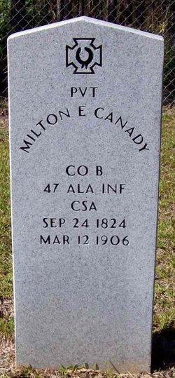 Milton Ebenezer Canady