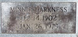 Minnie <i>Cornett</i> Harkness