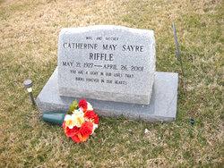 Catherine May Cathy <i>Sayre</i> Riffle