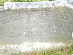 Sarah Thomas <i>Heyward</i> Hanckel