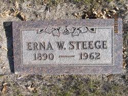 Erna W Steege
